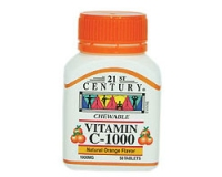 21st Century Vitamin C-1000 Orange (Chewable) (pack size 30)