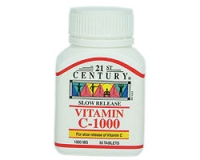 21st Century Vitamin C-1000 Slow Release (pack size 30)