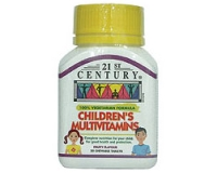 21st Century Children's Multi-Vitamins (pack size 50)