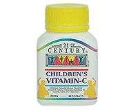 21st Certury Children's Vit C 100 mg (pack size 50)