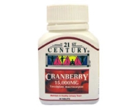 21st Century Cranberry Tab 15,000mg (pack size 30)