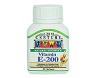 21st Century Vitamin E-200 (Natural) (pack size  50)