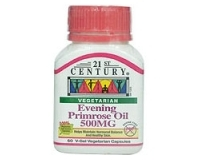 21st Century Evening Primrose Oil 500mg (pack size 60)