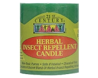 21st Century Herbal Insect Repellent Candle (pack size 1)