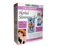 21st Century Herbal Slimming Tea - Cranberry (pack size 24)