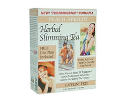 21st Century Herbal Slimming Tea - Peach Apricot (pack size 24)