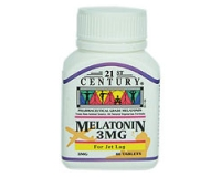 21st Century Melatonin 3mg (pack size 60)
