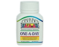21st Century One-A-Day (pack size  60)