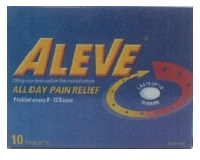 Aleve Pain Relief Tablets (pack size 10)