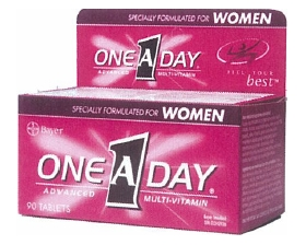 Bayer One A Day Women's (pack size 90)