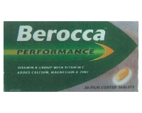 Berocca Film Coated Tab (pack size 30)
