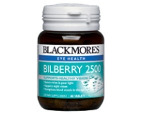 Blackmores Bilberry 2500 (pack size 60)