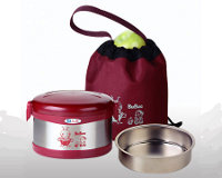 BUBEE Stainless Steel Insulated Vacuum Food Jar 950ml