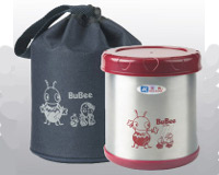 BUBEE Stainless Steel Insulated Vacuum Food Jar 850ml