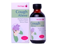 Heritage Cough Alieve Herbal Linctus (pack size 120ml)