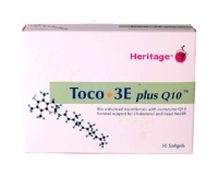 Heritage Toco 3E plus CoQ10 (pack size 60)
