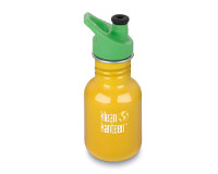 12oz/355ml kid Kanteen Classic Sports bottle (School Bus)