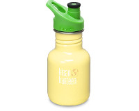 12oz/355ml kid Kanteen Classic Sports bottle (Yellow Sunshine)