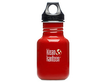 12oz/355ml Klean Kanteen Classic - poly loop cap (indicator red)