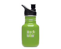 12oz/355ml Klean Kanteen Classic - sports cap (be green)