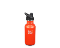 18oz/532ml Klean Kanteen Classic - sports cap (sierra sunset)