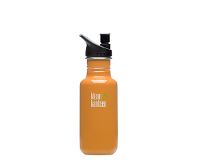 18oz/532ml Klean Kanteen Classic - sports cap (orange sunset)