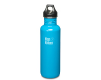 27oz/800ml Klean Kanteen Classic - poly loop cap (Channel Island