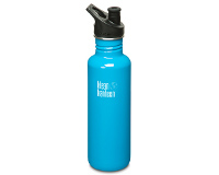 27oz/800ml Klean Kanteen Classic - sports cap 3.0 (Channel Islan