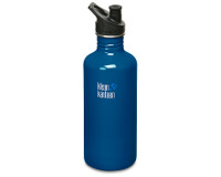 40oz/1182ml Klean Kanteen Classic - sports cap (Blue Planet)