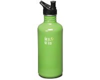 40oz/1182ml Klean Kanteen Classic - sports cap (Be green)