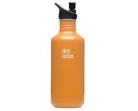 40oz/1182ml Klean Kanteen Classic - sports cap (orange sunset)