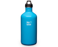 64oz/1900ml Klean Kanteen Classic - poly loop cap (Channel Islan
