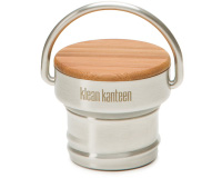 Klean Kanteen Accessories All Stainless Unibody Bamboo Cap