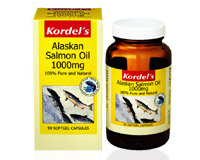 Kordel's Salmon Oil 1000mg (pack size 90)
