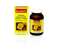 Kordel's Evening Primrose Oil 1000mg plus E200iu (pack size  30)
