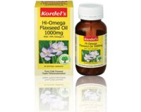Kordel's Hi-Omega Flaxseed Oil 1000mg (pack size  60)