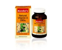 Kordel's Natural Vitamin E 200 IU (pack size 100)