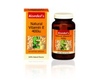 Kordel's Natural Vitamin E 400 IU (pack size 100)