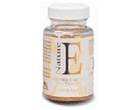 NE Nature E Vitamin E 400 I.U (pack size 100)