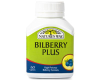 Nature's Way Bilberry Plus (pack size 60)