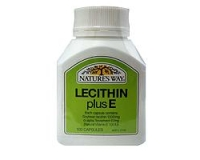 Nature's Way Lecithin Plus E (pack size 100)