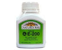 Nature's Way Vitamin E 200iu (pack size 100)