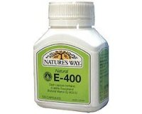 Nature's Way Vitamin E 400iu (pack size 100)