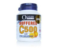 Ocean Health Buffered C500 with Citrus Bioflavonoids 60's chewab
