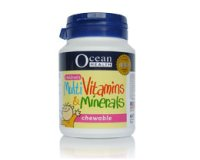 Ocean Health Children's Multivitamins & Minerals 60's chewable t