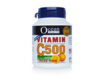 Ocean Health Vitamin C500 with Rose Hips 60's chewable tablet