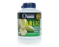 Ocean Health Garlic Double Strength 6000mg VegiCaps® 200's softg