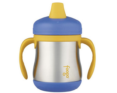 Thermos Foogo 7oz/200ml Sippy Cup with handle (Blue)